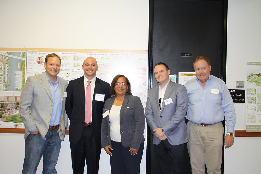 Jeff Certosimo, David Brotman, Maria Day-Marshall, Joshua Wooldridge and Van Anderson