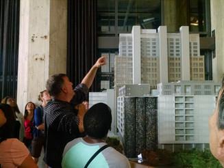 Fall Interdisciplinary Tour Visits Silo Point