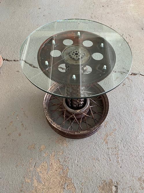 Flywheel End Table