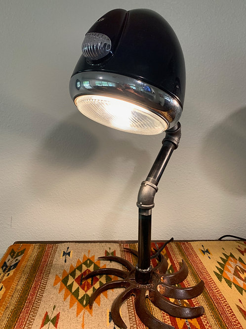 Vintage 30's Headlight Lamp