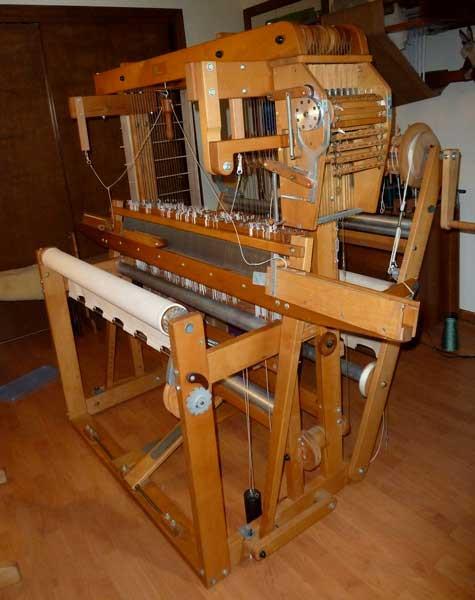 My Precious. I mean, my AVL Folding Mechanical Dobby Loom