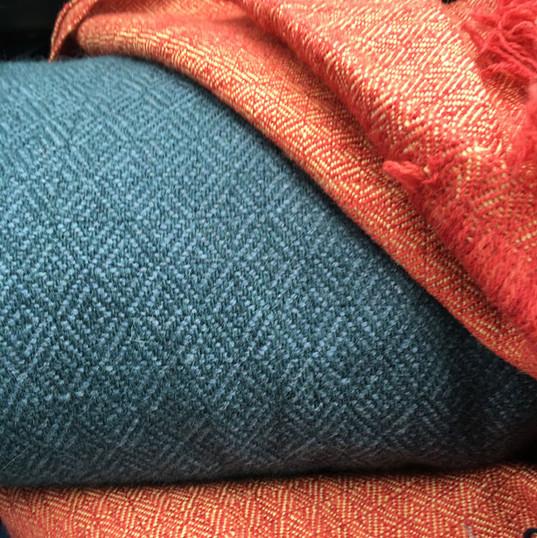 Sutton Hoo fabric recreation