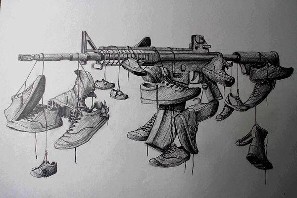 Malachi Farrell Drawings