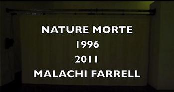 Malachi Farrell nature morte Macval