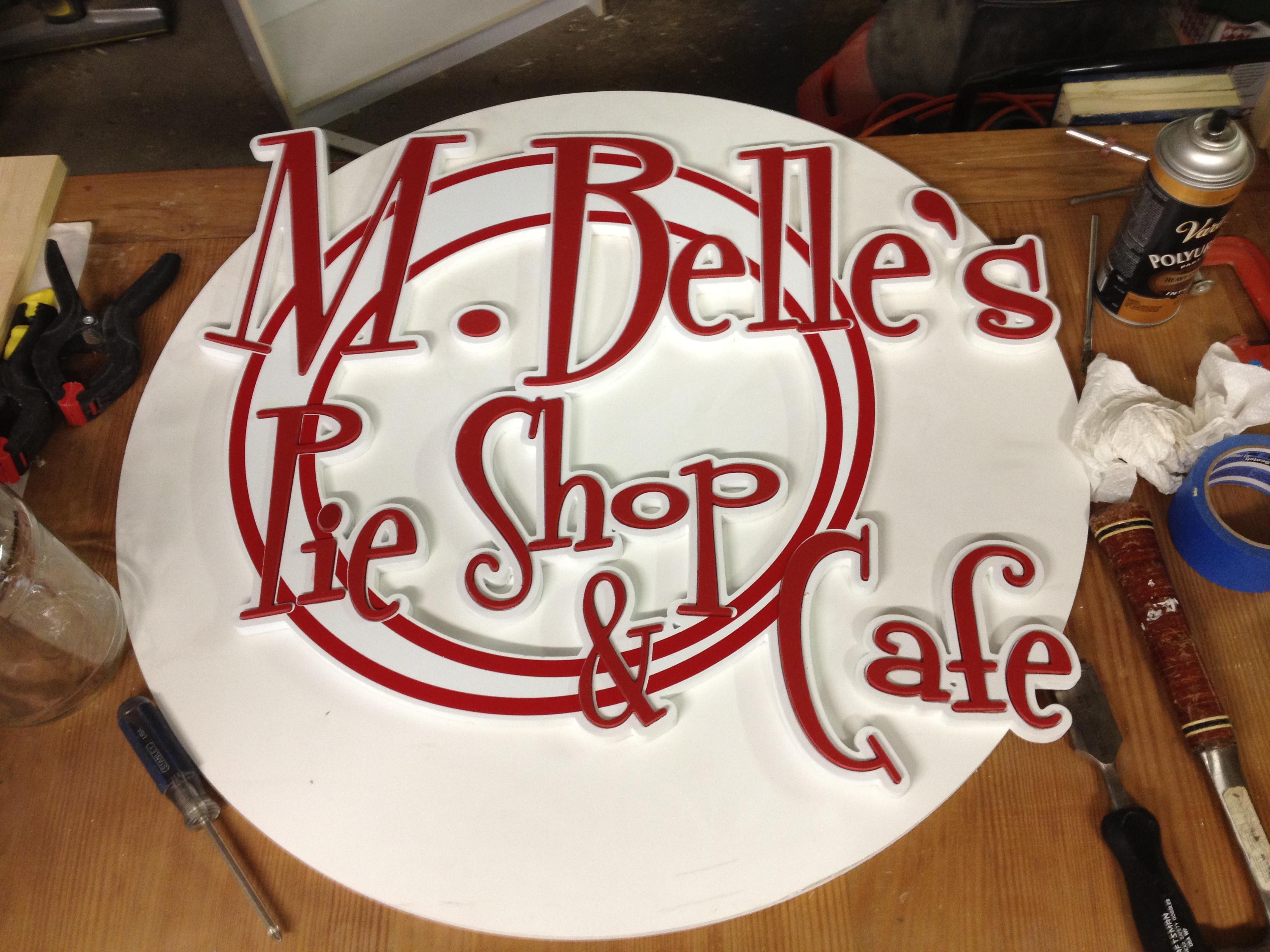 M Belle Sign 2