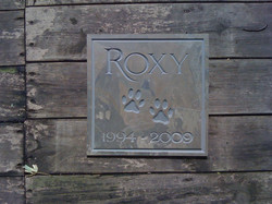 roxy slate sign