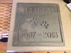 Bailey Slate Sign