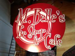 M Belle Sign 3