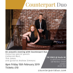 Counterpart Duo Studio 88 Poster wguests