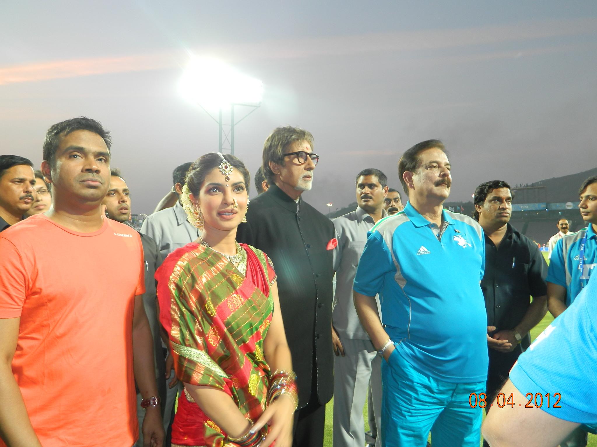 Amitabh Sir & Priyanka Chopra