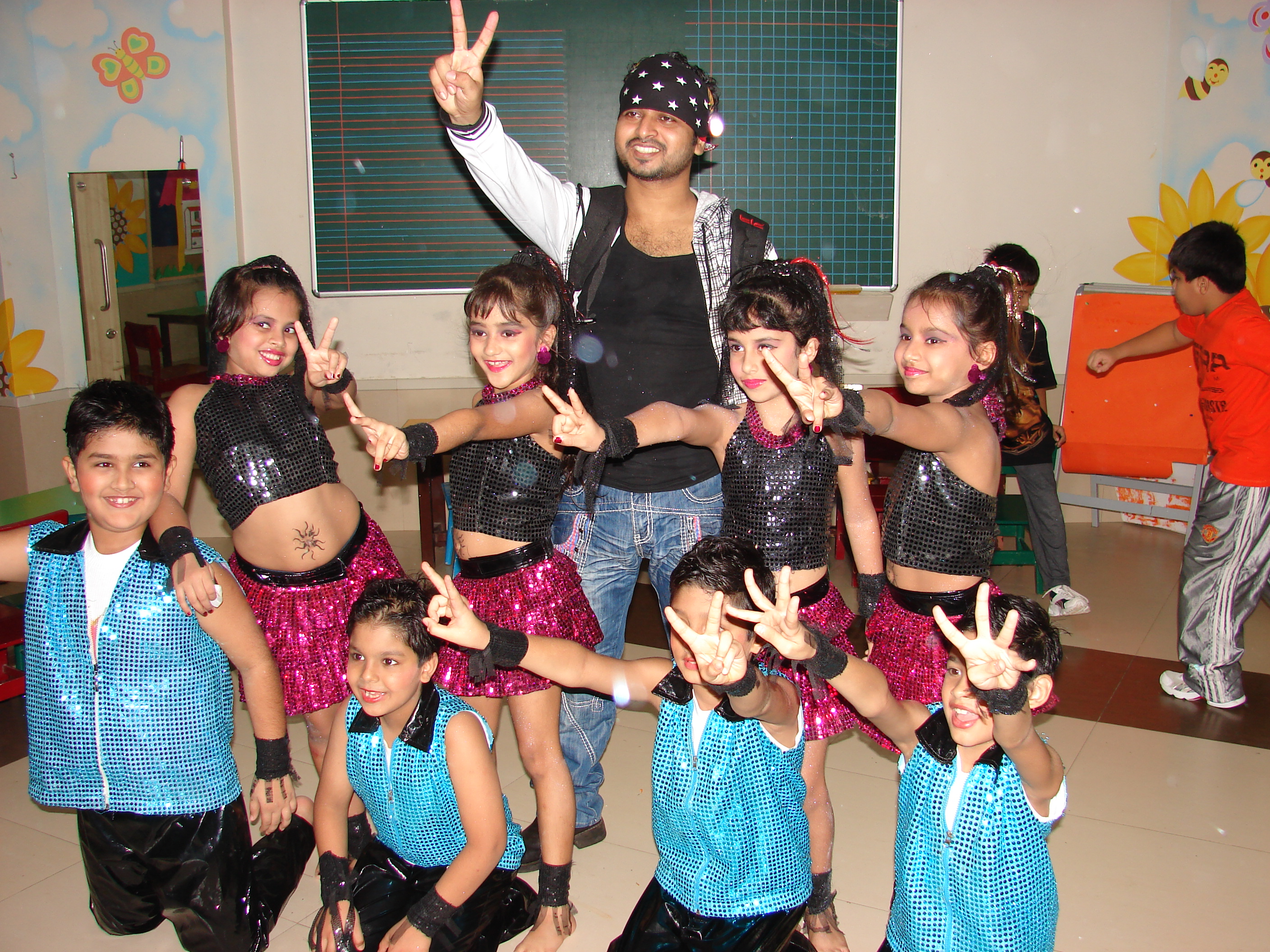 Saif Creations kidz with Saif Sir
