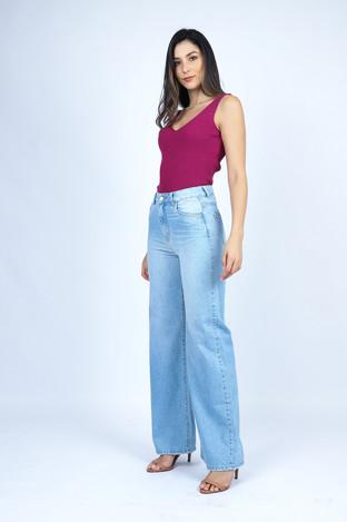 Calça jeans WIDE