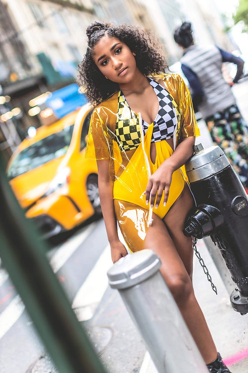 Taxi NYC Collection Cut Out 1Pc