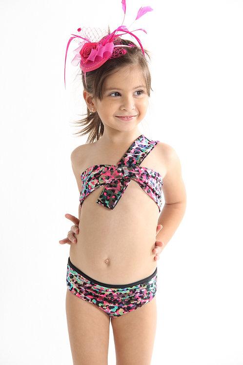 2 PC Pink Cheetah Bikini