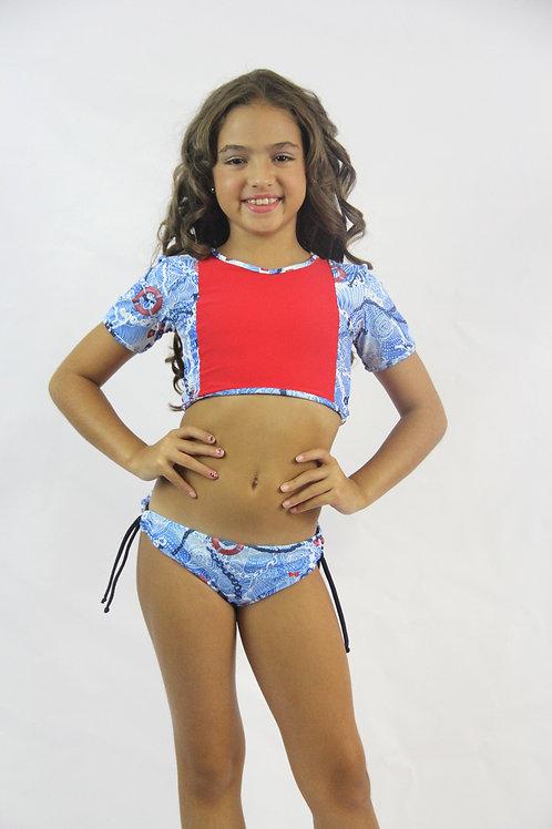2 PC Marine Classic Swimwear