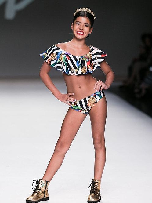 2PC Ruffles Bikini
