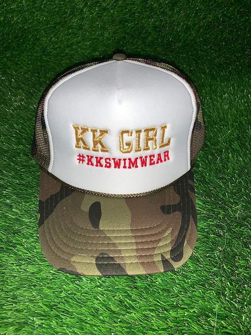 Kk Girl Hat Camo