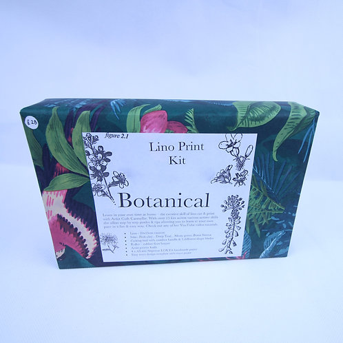 Botanical Lino cut and print kit