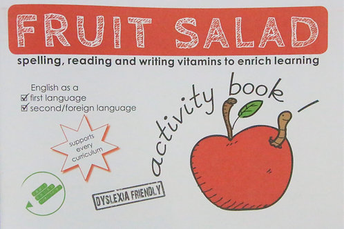 Activity Book- Spelling, Reading and writing.