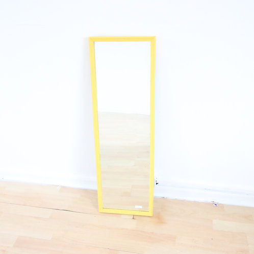 Yellow Rectangle Mirror