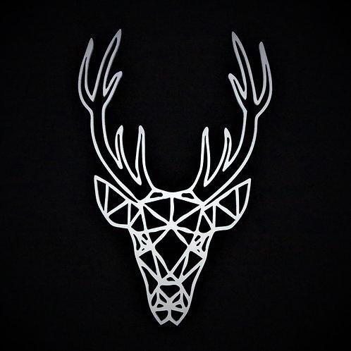 Deer Polygon Wall Art