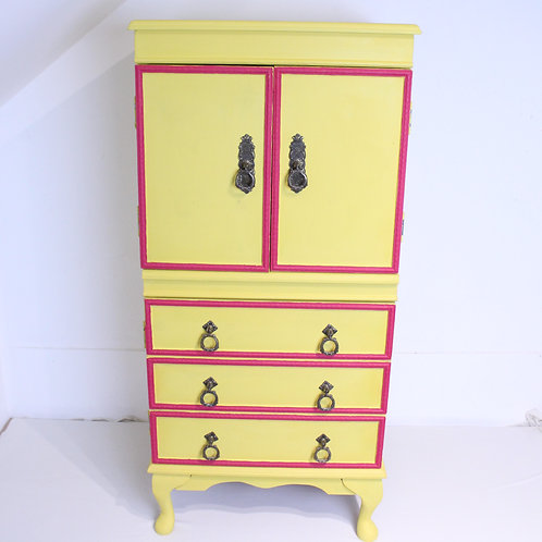 Yellow Drinks Cabinet