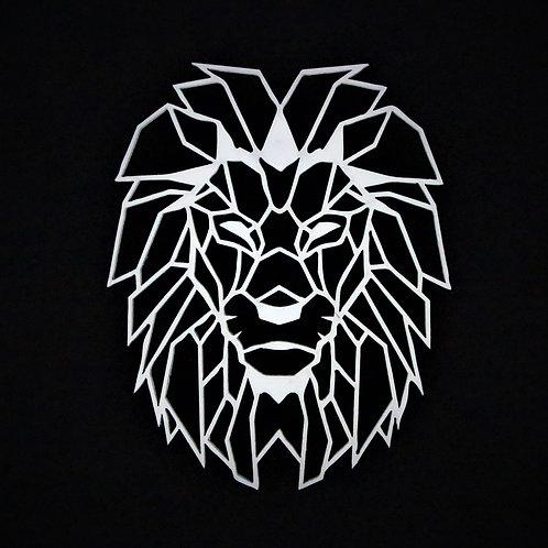 Lion Polygon wall art
