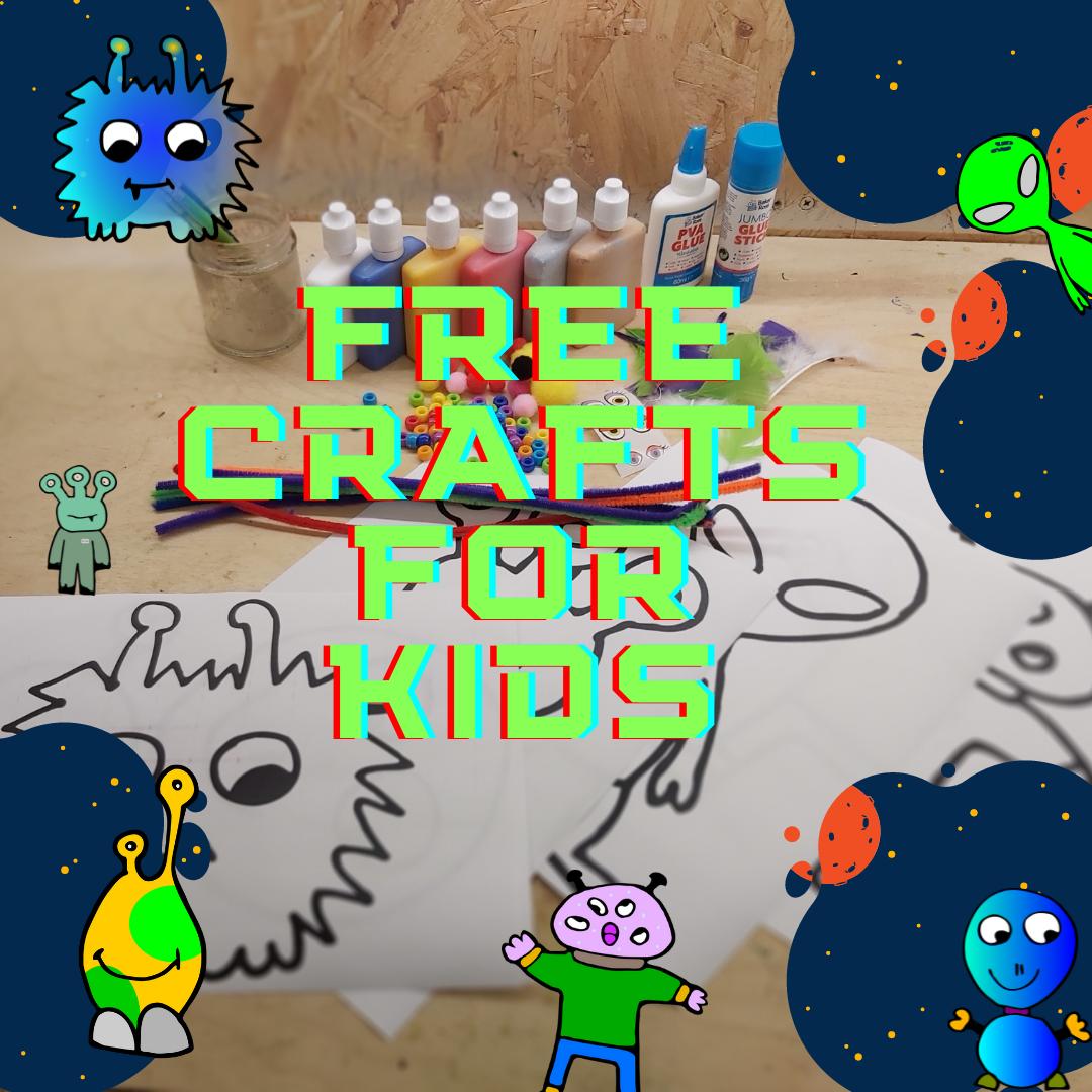 FREE ALiEN crafts for kids