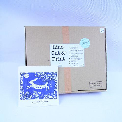 Lino cut and print kit