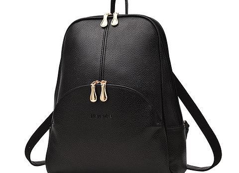 NEVENKA Soft PU Leather Backpack Women Casual Style Backpacks Moch
