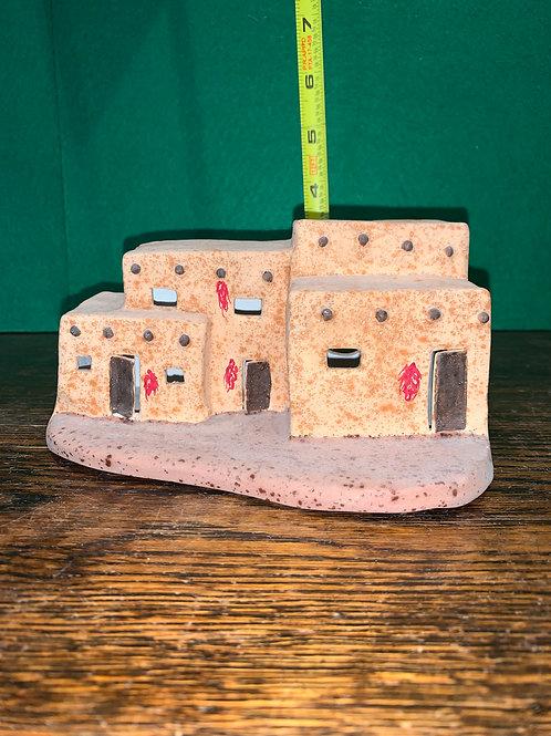 Adobe Pueblo Houses