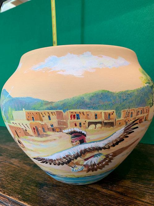 Sharon Higgins Large Zuni Pot