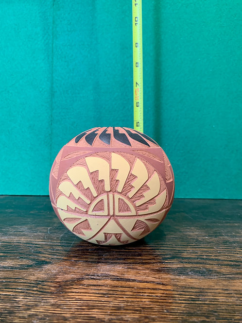 Etched Small Seed Pot