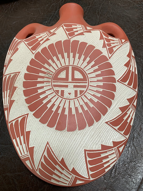 Etched Arrow Flask Acoma