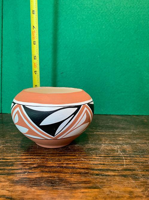 Small Jemez Pueblo Artwork Bowl