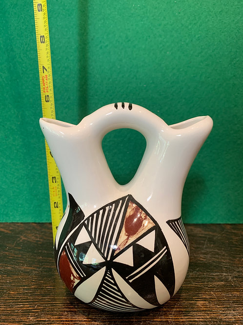 Glazed Traditional Wedding Vase