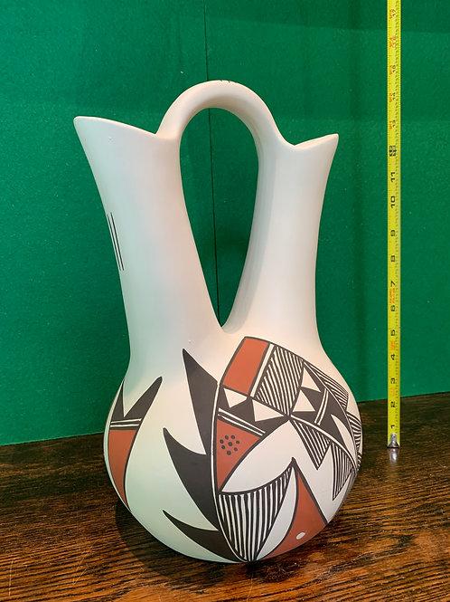 Large Old Laguna Pueblo Wedding Vase