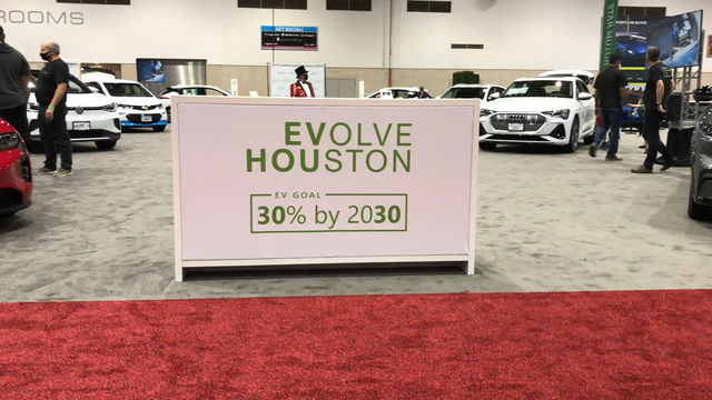 EVolve Houston at the 2021 Houston Auto Show