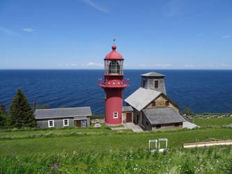 La Gaspésie et l'Acadie