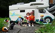 Nous sommes une famille originaire de Bretagne.  Tous les 5, nous partons en camping car en amérique sur les traces des cités d'or!