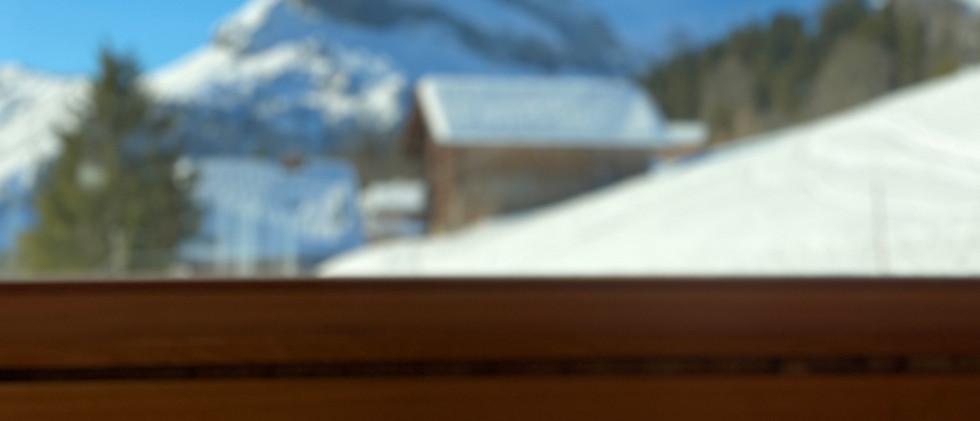 Strickweg 13, Blick aus dem Fenster Richtung Südwesten auf den Ortstock