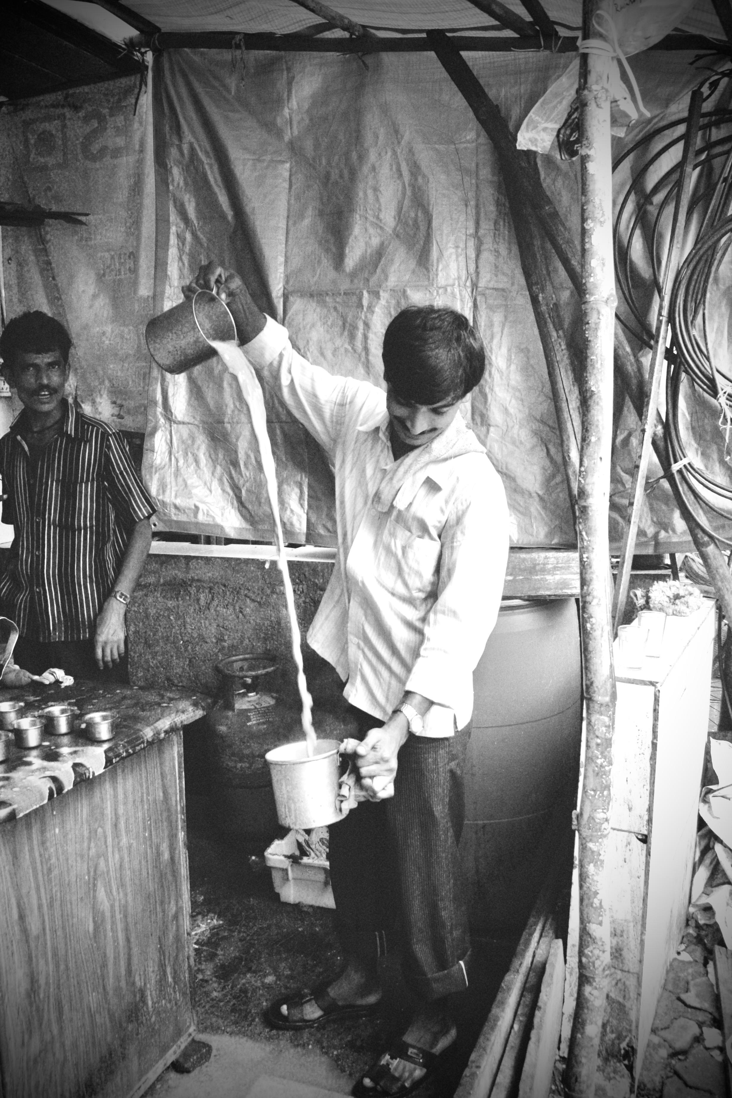 Mumbai chaiwalla