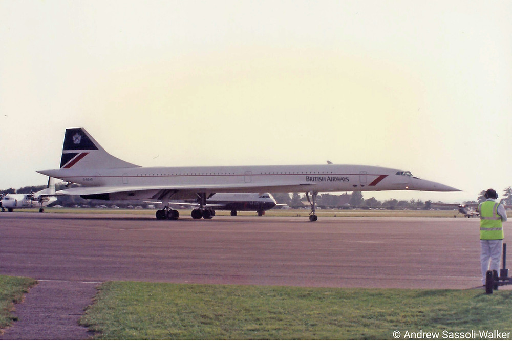 Concorde at Bournemouth