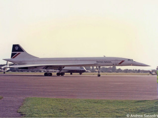 Flying on Concorde