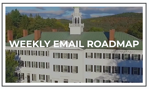 Weekly Email Roadmap for 12th Grade Families