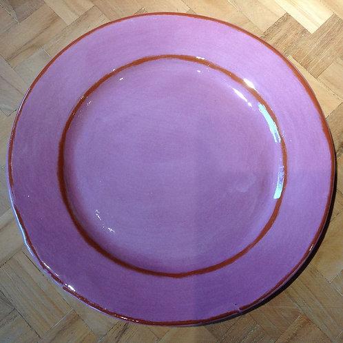 6 Assiettes Desserts Aubagne violet(exemple)