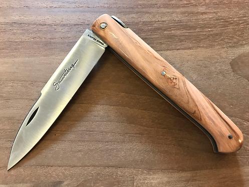 Couteau pliant Sauveterre olivier
