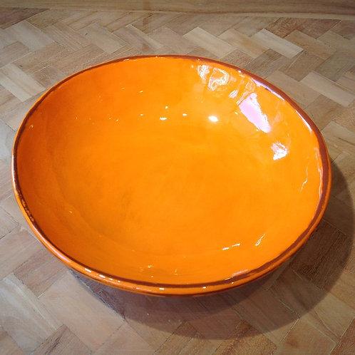 Assiette Creuse Aubagne Orange