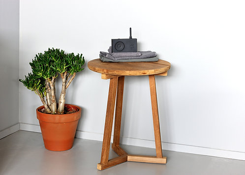 Table basse Ethnicraft en Teck Tripod