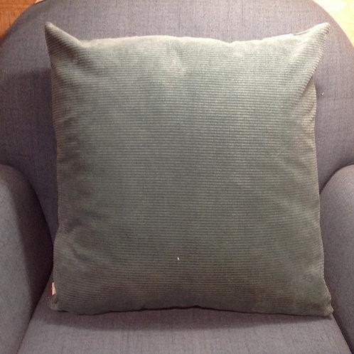 Coussin Lisette vert de gris 45x45